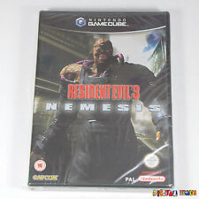 Resident Evil 3 Nemesis - NEW - FACTORY SEALED - Nintendo Gamecube GC Wii PAL