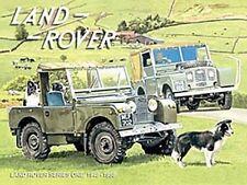 Land Rover Series 1 w. Sheepdogs (ls) fridge magnet   (og)