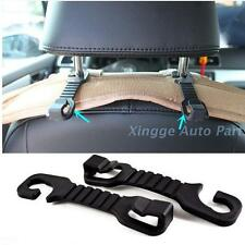 1PC Universal Black Car Hanger Auto Bags Creative Hook Car Seat Headrest Hook