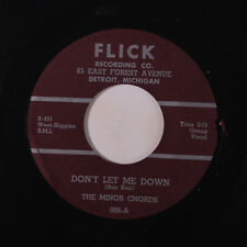 MINOR CHORDS: Don't Let Me Down / I'm Falling In Love With You 45 (xol) rare Vo
