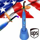 A++ HOT!!5W Dental Wireless Cordless LED Curing Light Lamp 1500mw Cures -Blue US