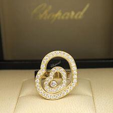 Chopard Ring Happy Spirit mit 0,86ct Brillant FC in 750/18K Gelbgold UVP. 9230,-