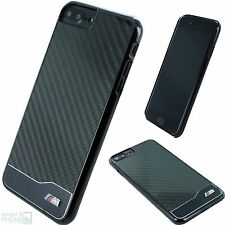 "BMW M Real Carbon Fiber iPhone 7 Plus / 5,5"" Hard Case Back Cover Schutz Hülle"