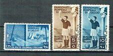 Italienische Kolonien 1934 Fussballweltmeisterschaft Sassone 48-50 MLH