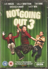 NOT GOING OUT - Series 3. Lee Mack, Tim Vine, Miranda (NEW/SEALED 2xDVD SET '10)