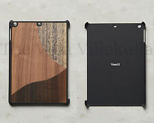 New Anthropologie Bronzed Walnut Wood iPad Air Case ~ Decco Motif - Sold Out!