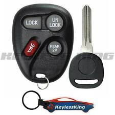 Replacement Remote Key Fob Set for 1998 1999 2000 2001 Chevy Blazer