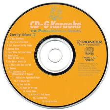PIONEER KARAOKE PCDG-213 - ORIGINAL PROFESSIONAL SERIES CD+G - COUNTRY VOL 13