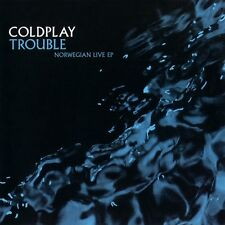 CD COLDPLAY Trouble Norwegian live ep RARE