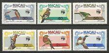 Macao. 1984. Ausipex 84 (Oiseaux) Ensemble SG: 592/97. Neuf Sans Charnière