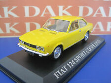 Die cast 1/43 Fiat 124 Sport Coupè 1971 by Ixo