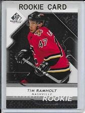 08-09 SP Game Used Tim Ramholt Rookie # 187