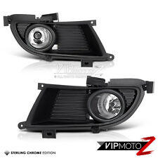 2004-2005 MIT Lancer ES/OZ/SE Crystal Clear Fog Light Bumper Lamp+Wiring/Switch