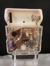 Vintage Japan 76-11 Battery Operated Mechanical Clock Movement restoration part