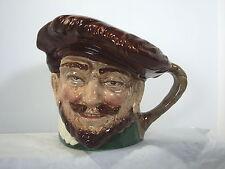 Royal Doulton Toby Mug Sir Walter Drake Large Vintage Pitcher Green Backstamp