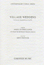 John Tavener Village Wedding Vocal Choral Voice Learn Play Music Book