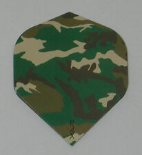3 Sets (9 Flights) Ruthless CAMOUFLAGE CAMO Green Standard - Free Ship 1860