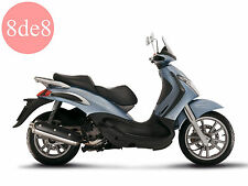 Piaggio Beverly 400 ie (2005) - Manual de taller en CD