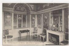 Rambouillet Le Chateau Salle de Bain Napoleon 1er Vintage Postcard 363a
