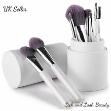 PRO trucco Brush Set Kit in vaso Foundation Brush Pennello Spazzola Supporto