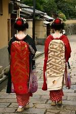 Maiko Women in Kyoto Japan Journal: 150 Page Lined Notebook/Diary by Image, Cool