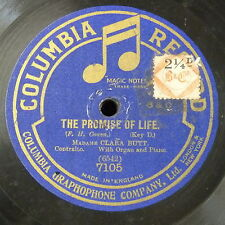 "78rpm 12"" CLARA BUTT the promise of life , single side"