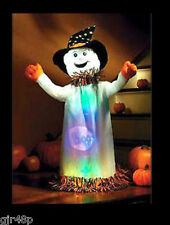 Singing BLACK CAT & WANDA Light Up GHOST HALLOWEEN FUN DECORATION & TOY BOXED UK