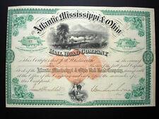 General William Mahone - Atlantic Mississippi & Ohio RR