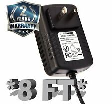 12V Power Charger Adapter for Yamaha PA-3B PA-3C PA-40 PA-3BU PSU New 8 FT Cord