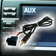 BMW BM54 E39 E46 E38 E53 X5 AUX IN ADAPTER KABEL RADIO NAVI CD MP3 iPhone Klinke