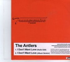 (DR648) The Antlers, I Don't Want Love - 2011 DJ CD