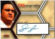 TNA Samoa Joe 2008 Impact Autograph Card RED /25