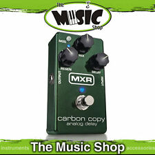 New MXR M169 Carbon Copy Analog Delay Guitar Effects Pedal - Authorised Dealer
