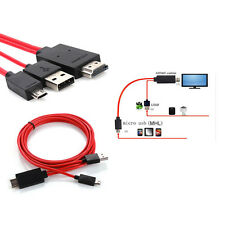 MHL Micro USB to HDMI TV AV Cable Adapter HDTV for Samsung Galaxy S3/S4/Note 2