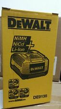New Dewalt DE9135-QW 7.2v-18V NiCd/NiMH/Li-Ion Fast Battery Charger