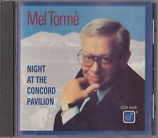 Mel Torme Tormé - Night At The Concord Pavilion (Jazz/Vocal CD)
