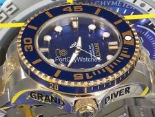 Invicta Men's 47mm Grand Diver Gen II Automatic Blue Dial Two Tone S.Steel Watch