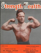 Strength & Health Bodybuilding Weightlifting Magazine Dick Bachtell 7-44