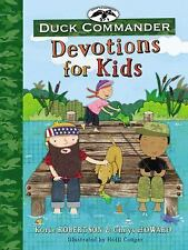 Duck Commander Devotions for Kids by Chrys Howard and Korie Robertson (2015,...