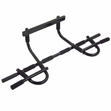 New Portable Chin Pull Up Workout Bar Door Home Abs Exercise Doorway Fitness