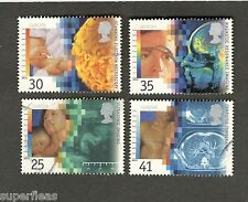 1994 Great Britain Europa #1577-80  Medical Discoveries Θ used stamps
