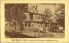 Amherst NS Bird's Nest Home For Tourists Postcard