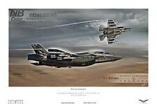 617 Squadron Lockheed/Martin F35-B Lightning II  RAF DIGITAL ART PRINT