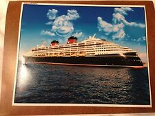 Disney Cruise Line Wonder professional photo 10X8 DCL Mickey & Goofy