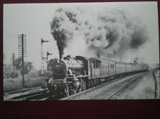 POSTCARD LMS CLASS 2MT LOCO NO 46465 AT CAMBRIDGE WHIT MONDAY 1961