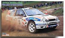 HASEGAWA 1/24 Toyota Corolla WRC 1998 Rally of Britain model kit *Decal damaged