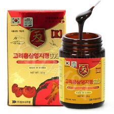 Korean Red Ginseng Ganoderma Lucidum Extract Gold 100g (50g x 2 Bottle) Lingzhi