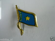 PINS,SPELDJES 50'S/60'S COUNTRY FLAGS 16 REP. CONGO VINTAGE VERY OLD VLAG