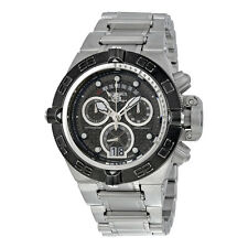 Invicta Subaqua  Chronograph Gunmetal Dial Mens Watch 17610