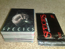 Species Trading Cards + Wax Pack